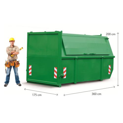 3m3 container huren - bouw en sloop