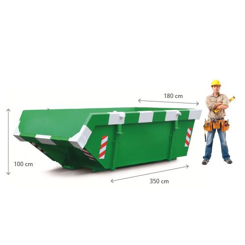 6m3 container huren afmetingen