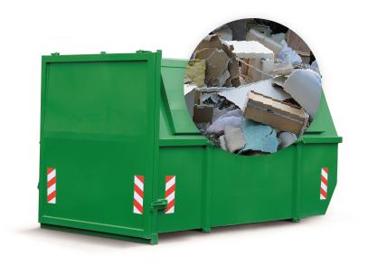 ContainerOnline 10m3 container huren grofvuil afvalsoorten