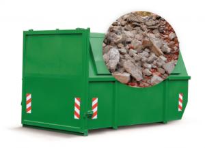 ContainerOnline 10m3 dicht container huren - puin