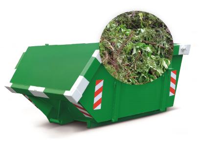 3m3 container huren - groenafval