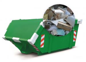 3m3 container huren - grofvuil - afvalsoorten
