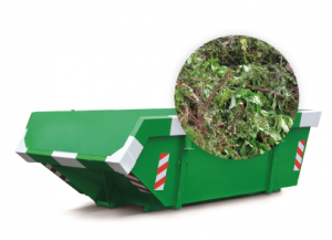 6m3 container huren - groenafval