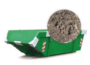 6m3 container huren - grond