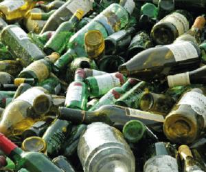 ContainerOnline Afvalsoort - flessenglas - rolcontainer Huren