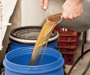 ContainerOnline Afvalsoort - frituurvet inzamelen