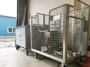 ContainerOnline rolcontainers bedrijfsafval Wastenet inzameling