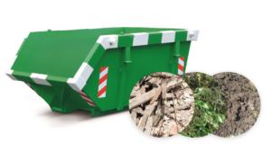 ContainerOnline 3m3 tuinafval container huren