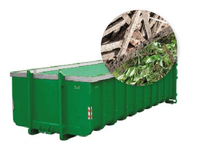 20m3 tuinafval container huren