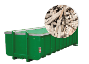 20m3 container huren - bouwafval