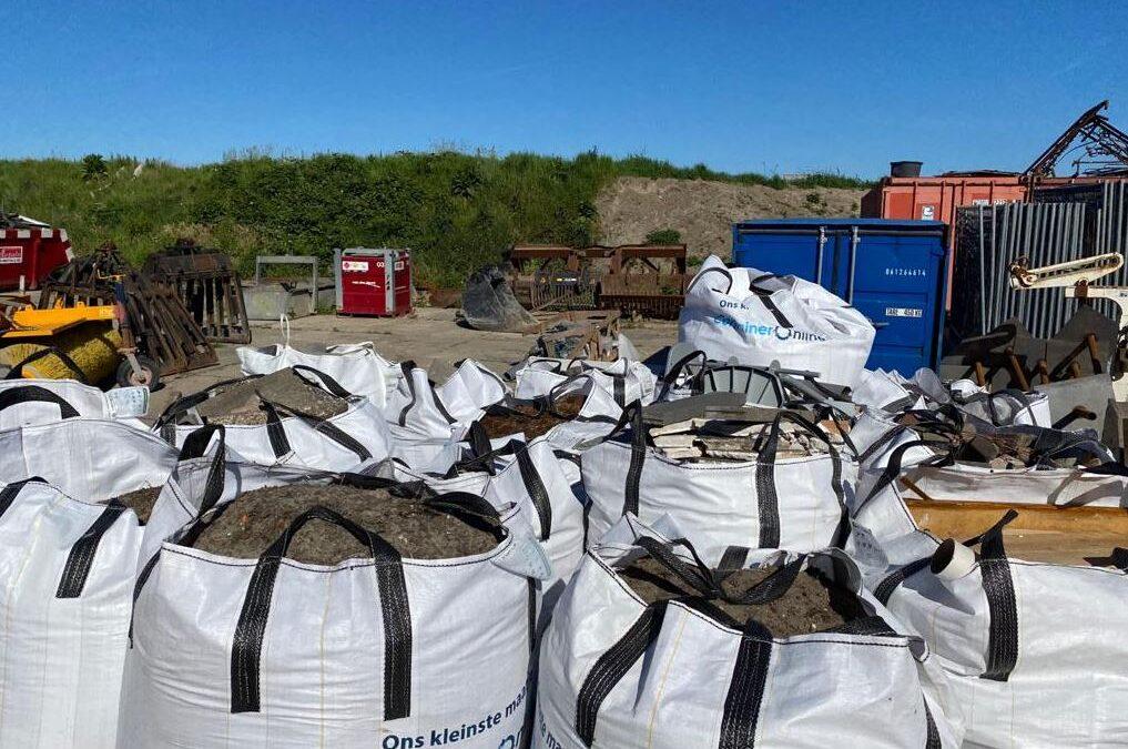 Big Bag voor afval huren bestellen