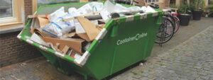 Zo lang mag een afvalcontainer blijven staan