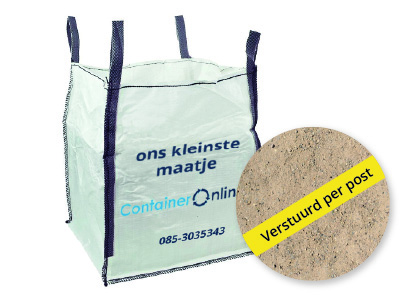 Big Bag voor gemengd grond afvoeren